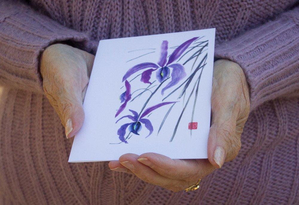 Copy of Joyful Sumi-e
