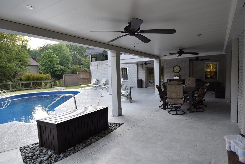 Underdeck or watertight deck