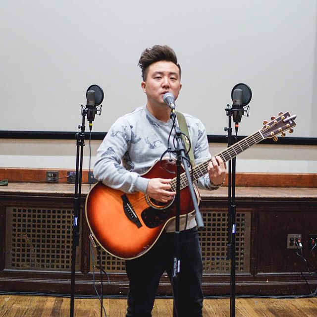 Thanks to @davidchoimusic for an awesome Q&A and performance yesterday! We hope you had a great time performing at Penn! (Also thanks to @pennksa for collabing)