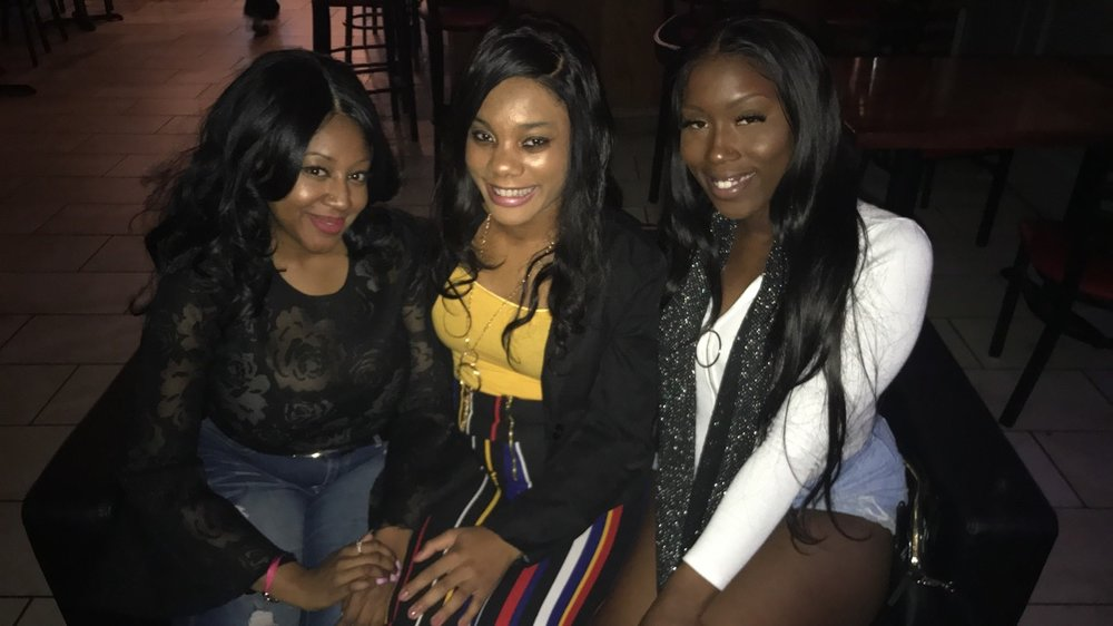 Tay, me and Breanna on a night out!