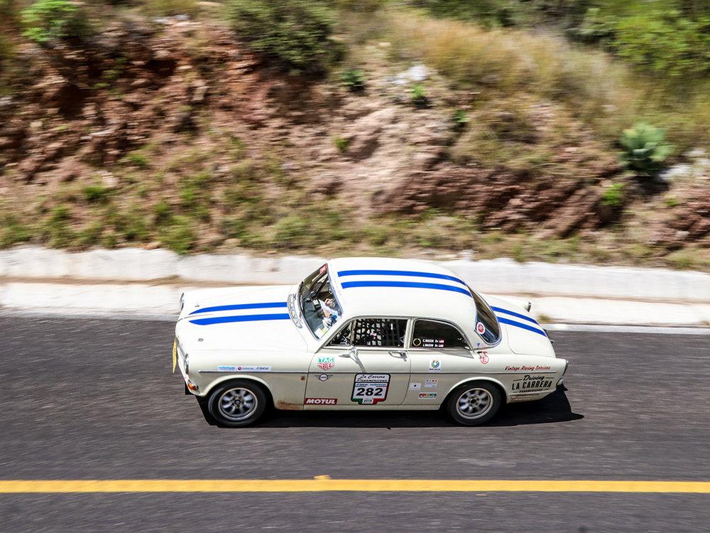 Stage 2 to Mexico City in La Carrera Panamericana.