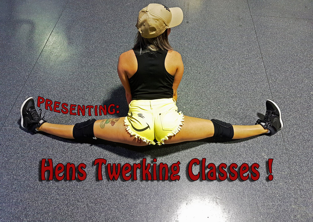 hens party twerking classes. bookings for Brisbane city. Hens party ideas in Brisbane.