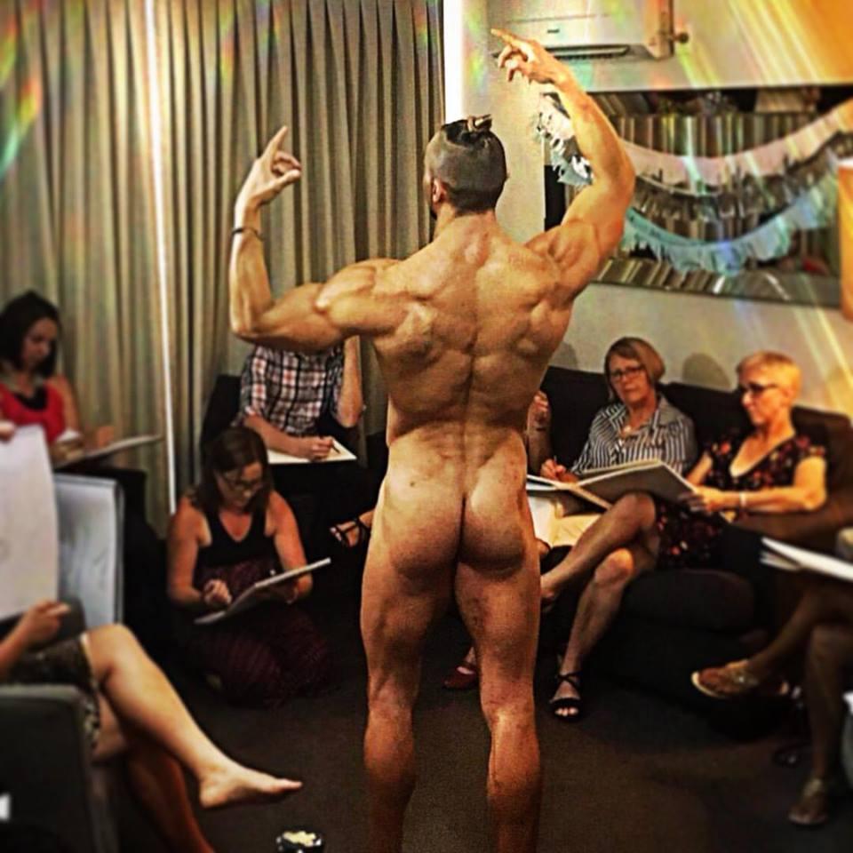 Nude Male Art Class
