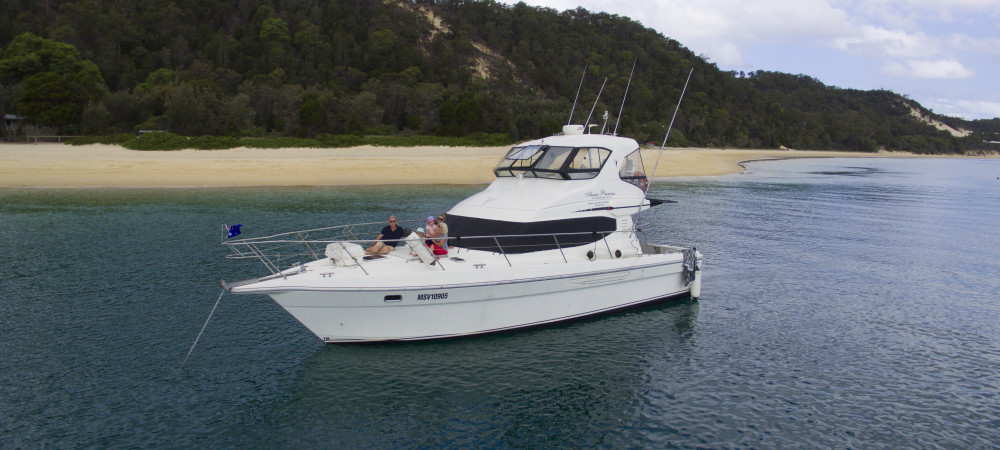 Book Your own private and exclusive yacht tour of Brisbane river and surrounding area's.