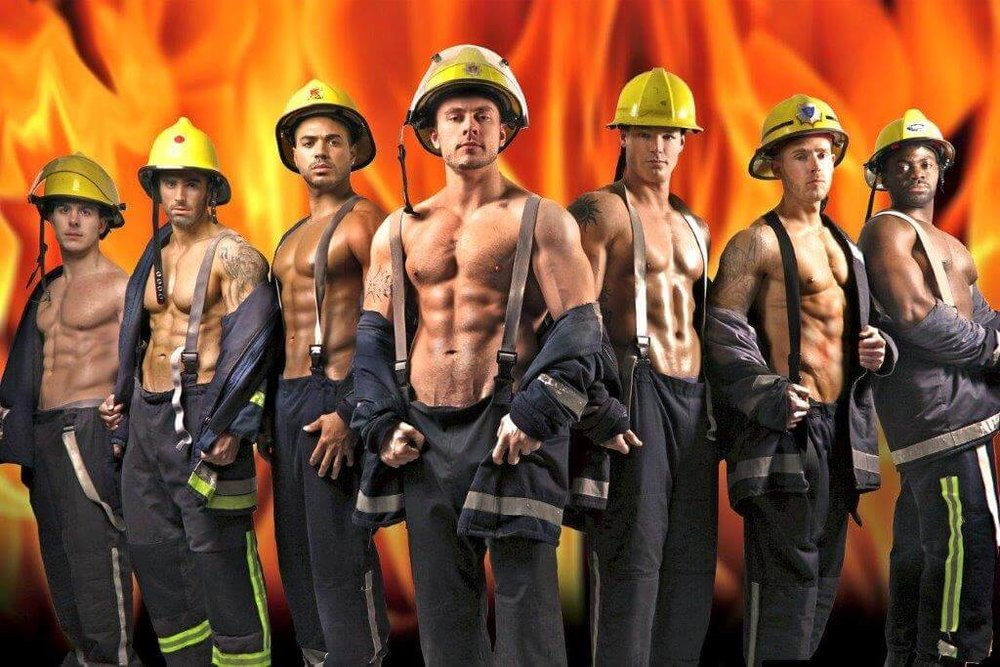 Example of a good fireman costume.