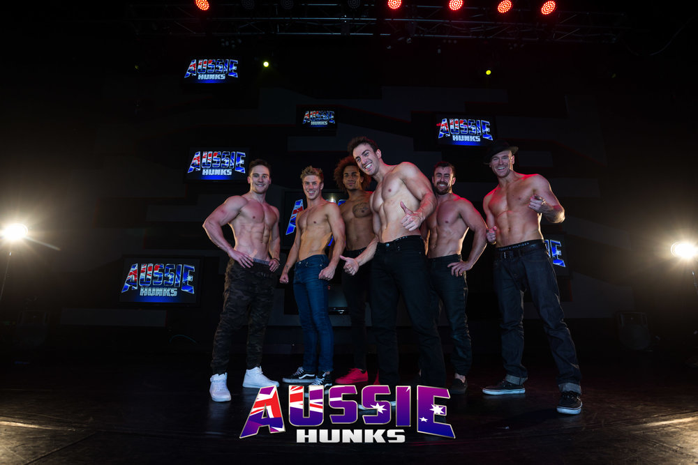 The camaraderie and friendships you develop in a male revue show is an amazing thing!