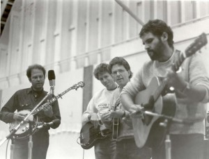 Hot Rize, 1985 in Cannon Beach, OR. 1st all-bluegrass instructional camp