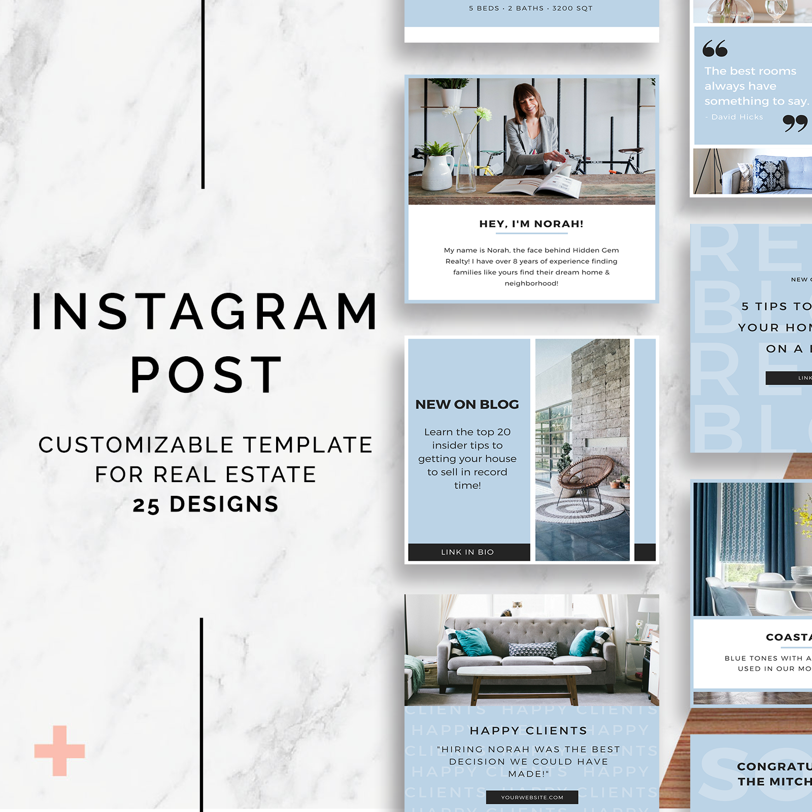 Instagram Post Templates — Curb Creative