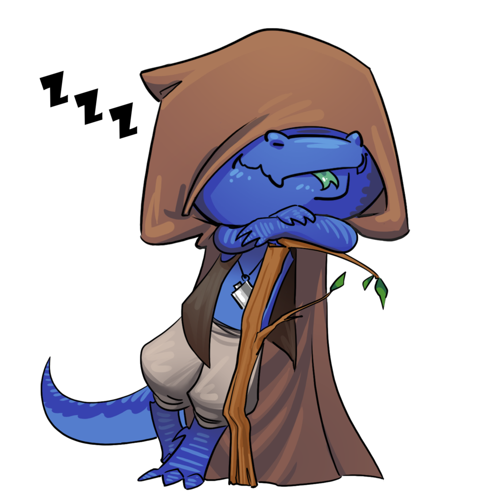 Rovu The Sly - An endlessly tired Kobold with a drinking problem, Rovu can't seem to find a place in the world. Banished from his tribe, he now wanders from place to place, racking up a massive debt to the blood suckers of Tooth and Scale. Will he ever be accepted by society as a whole?