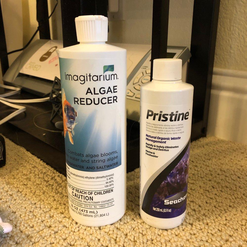 My Pristine and Algae Reducer