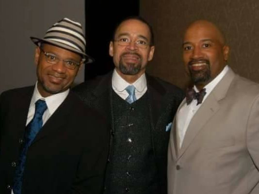 The Whalum Brothers: (from left) Kirk, Kenneth Jr., & Kevin