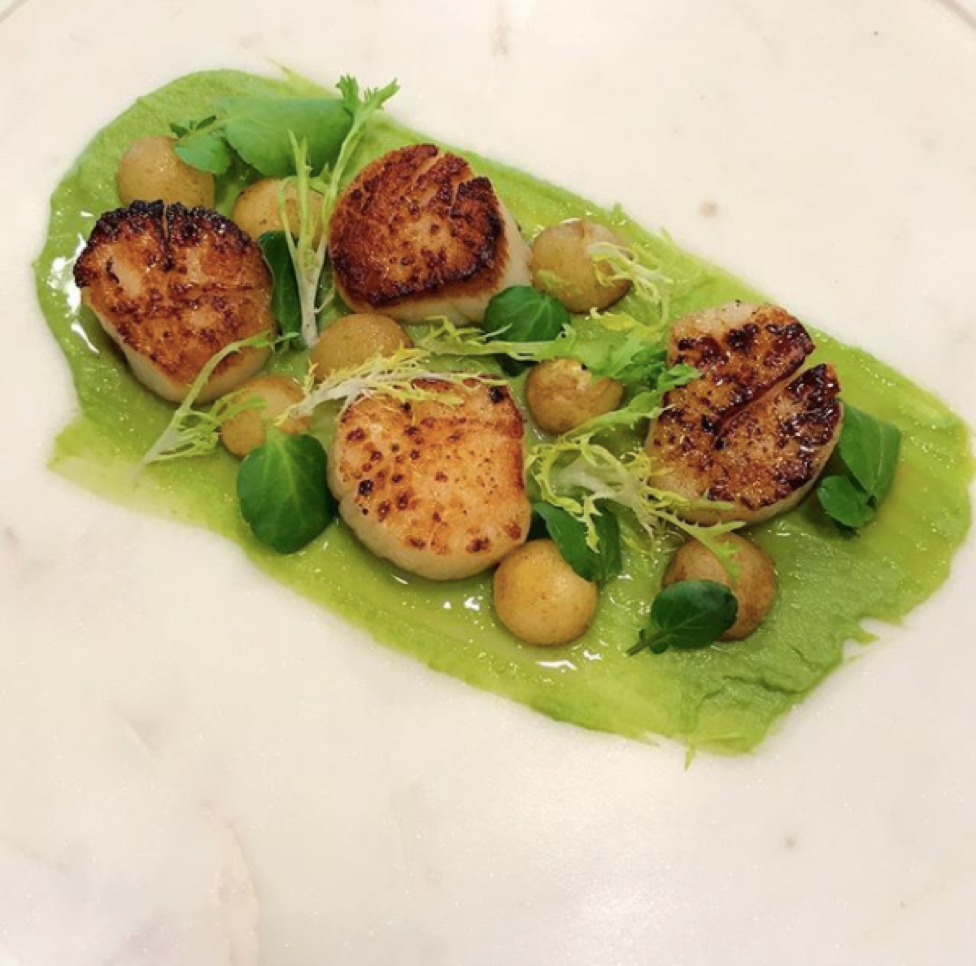 Shawn's yummy scallops
