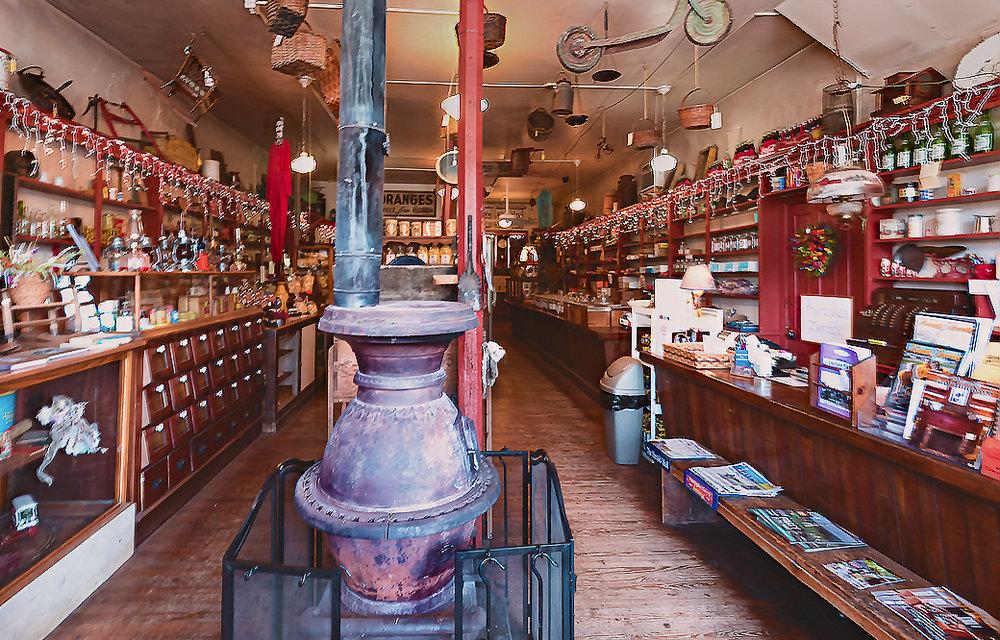 Inside Wilsons General Store