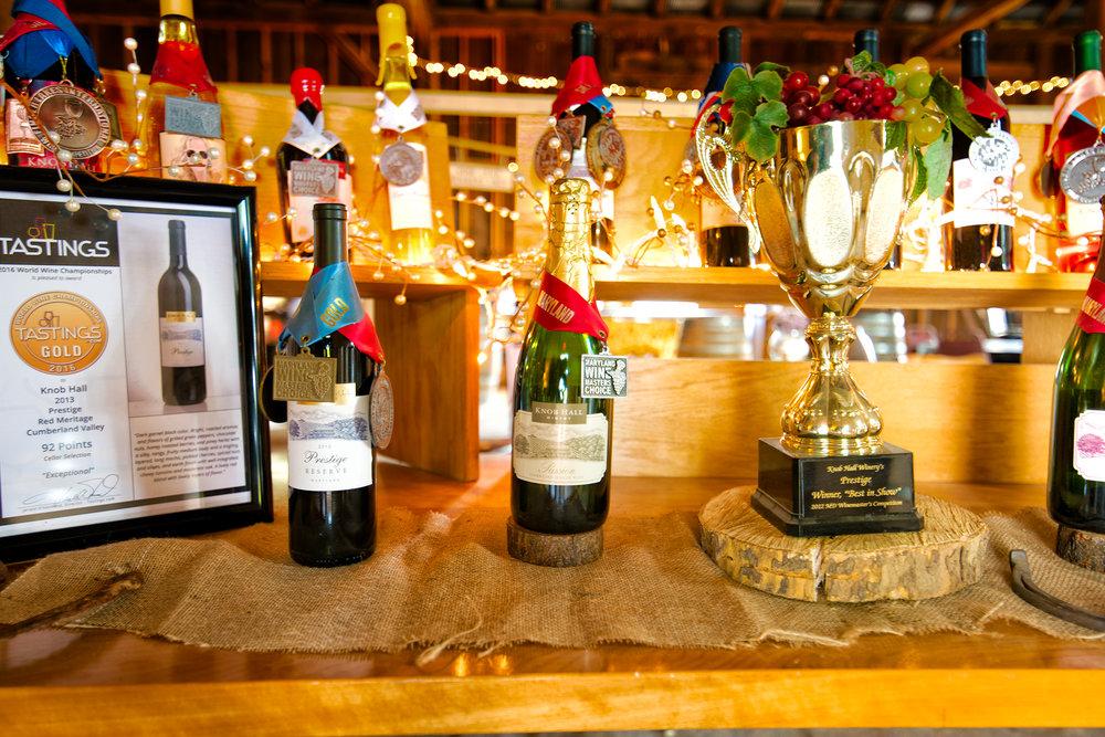 Maryland Wines are Award Wining