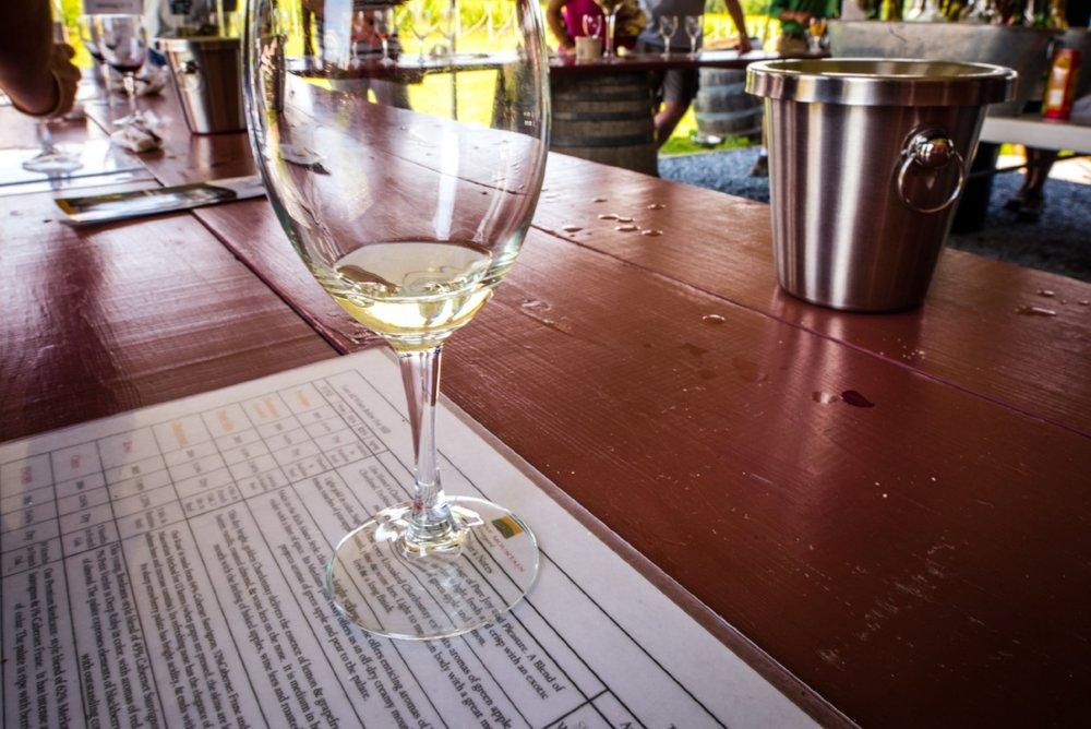 Sugarloaf Mountain Vineyard Wine Tasting  photograph by John Canan