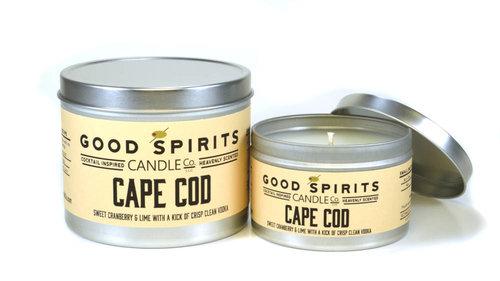 cape cod good spirits candle co