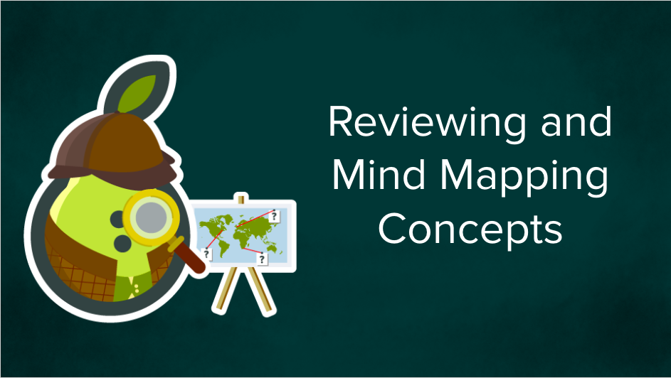 Reviewing and Mind Mapping Concepts