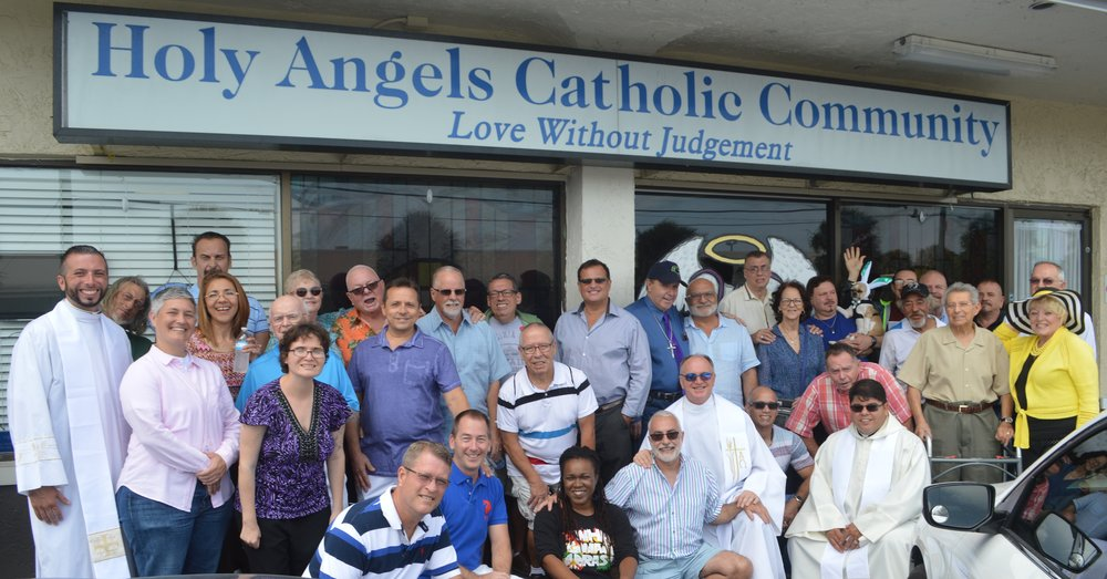 All are welcomes at Holy Angels and a part of our family of faith.  Be a part of our next family photo.