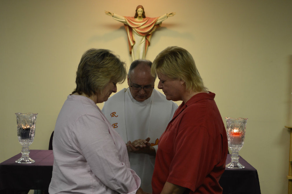 We believe that all marriages are Sacraments in the heart of God.