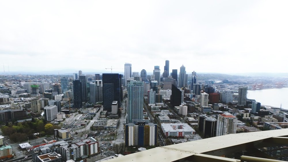 (View from the top of the Space Needle)