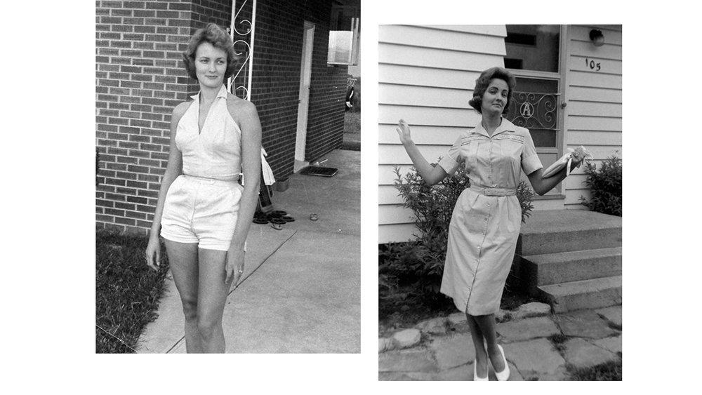 (My mother's beautiful mother, Nancy)