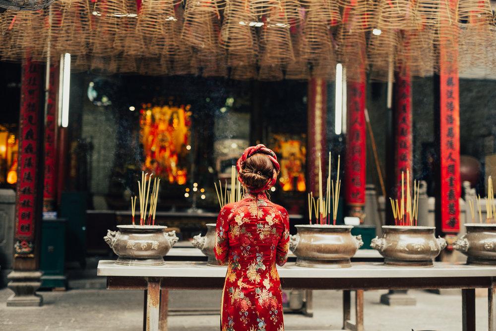 Ba Thien Hau Temple, Ho Chi Minh City,Vietnam
