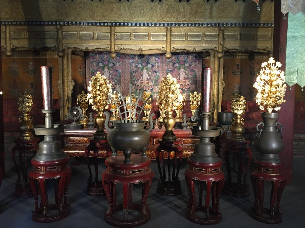 Shrine used by the Empress Dowager Chongqing.
