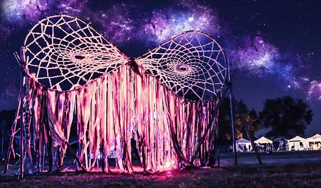 May all your wildest dreams come true. We love this pic from last year #ssbdfest2018 📷 - @desertnova Artist - @infinitedreamsart