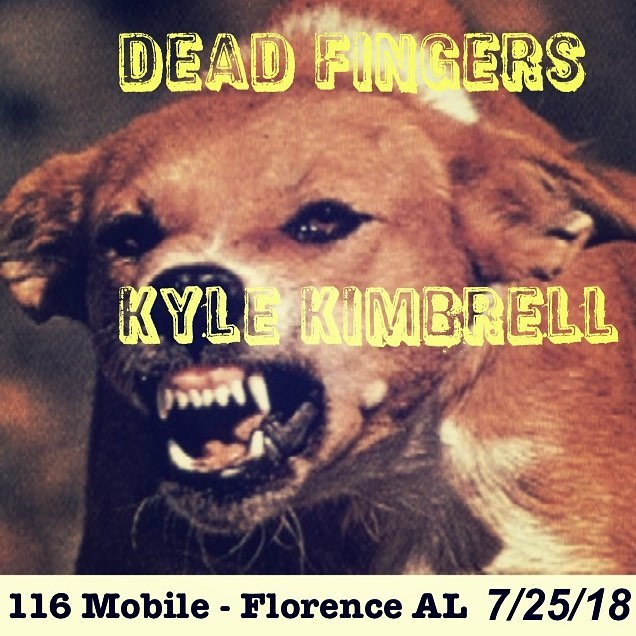 Wednesday night in Florence @116mobile w/ our bud @kylekimbrellmusic