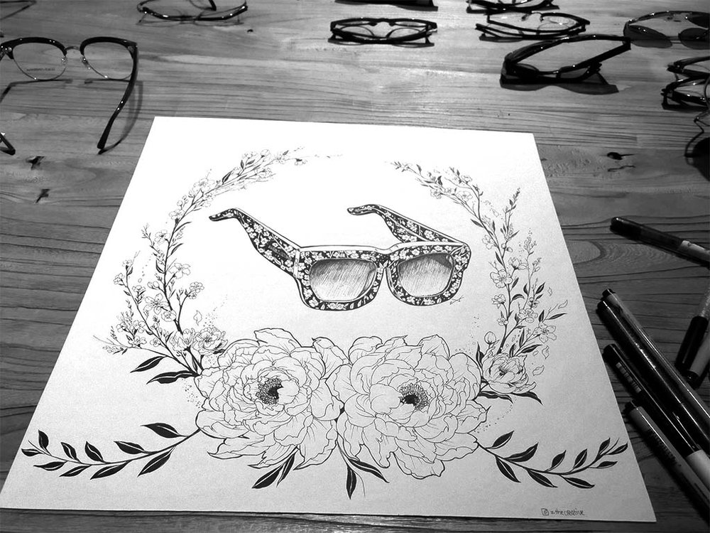 Dolce & Gabbana Live Drawing