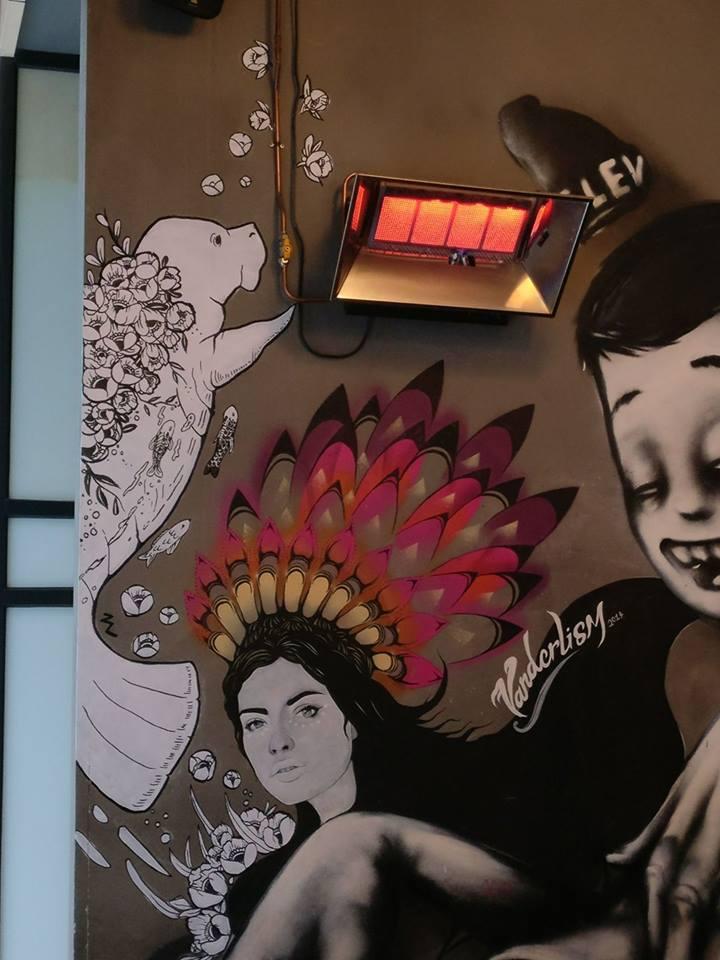 Manatee - Bar Ampere Mural