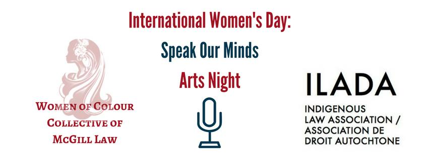 Speak Our Minds Art Night  -