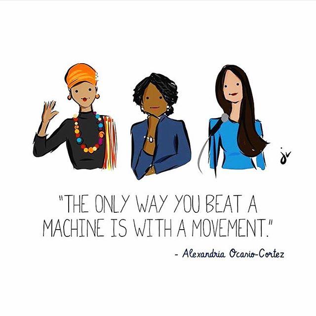 Herstory in the making ✊🏿✊🏾✊🏽✊🏼 #womeninpolitics #wocinpolitics #woc #pinkwave