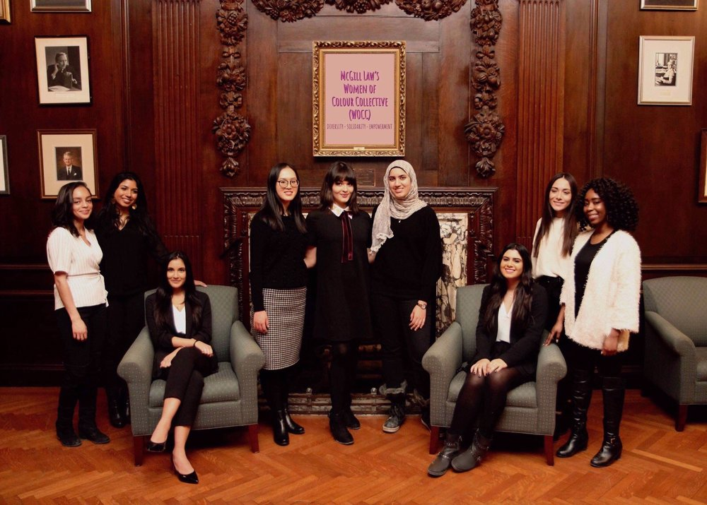 Left to Right: Prudence Etkin, Bianca Braganza, Sabrina Kholam, ZiChen Gao, Dorna Zaboli, Raghad Al-Lawati, Catalina Karam, Fetfet Elsherif, Jemmy Erhiaganoma