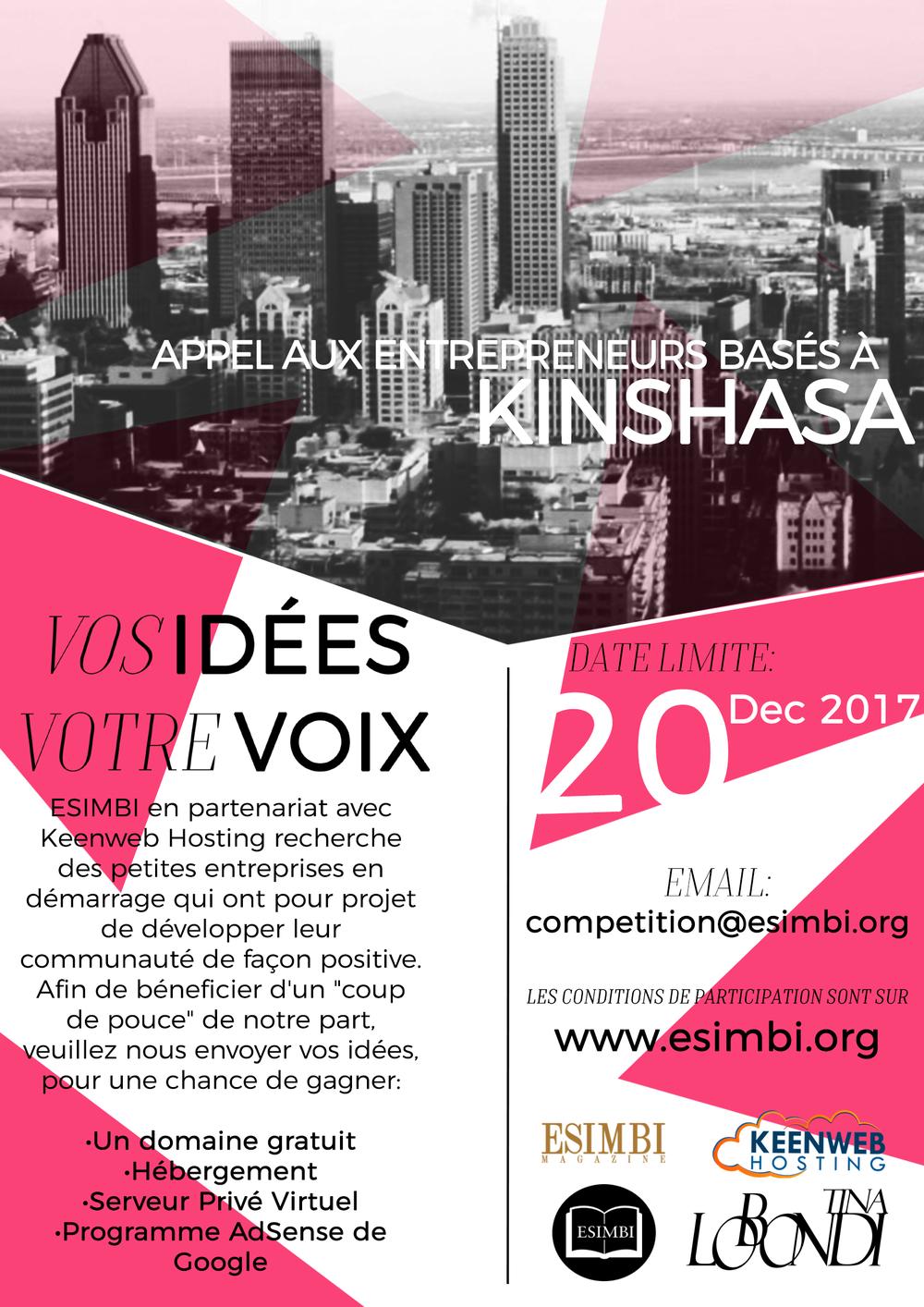 Kinshasa Entrepreneur Poster.png