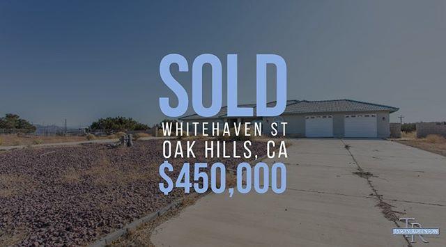 #oakhills home sold! 🎉 #TysonRE #sold #homesold #realestate #realtor #broker