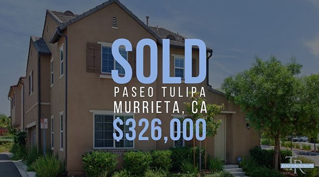 More happy buyers get to call #Murrieta home!! ☀️ Looking to move to the area? We've got options! Contact Tyson direct to get started 📲 (951) 970-5740 #TysonRE #sold #buyers #murrietarealestate #murrietarealtor #temeculavalley #socal #realestate #realtor #broker #inlandempire