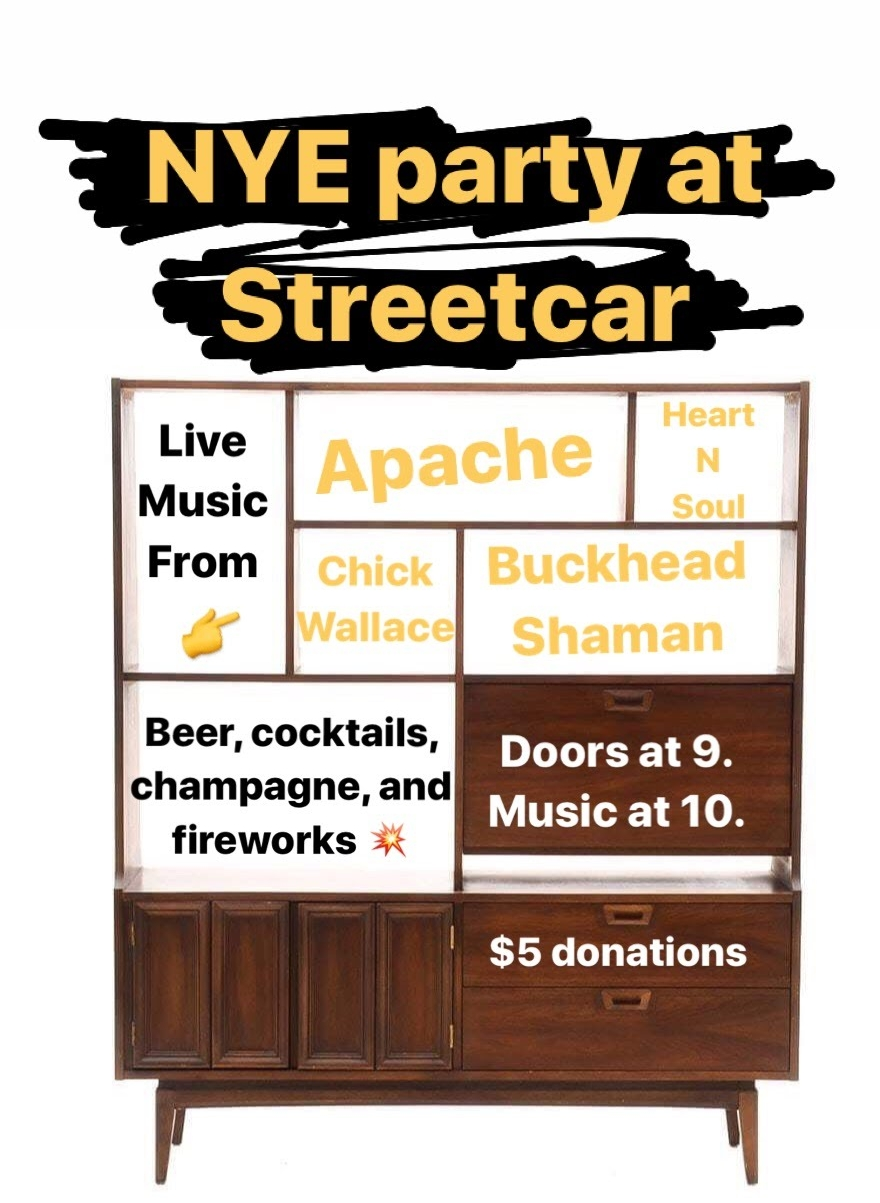 Streetcar New Years Eve