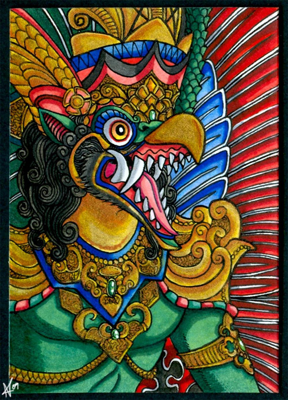 The Garuda scrolls - single