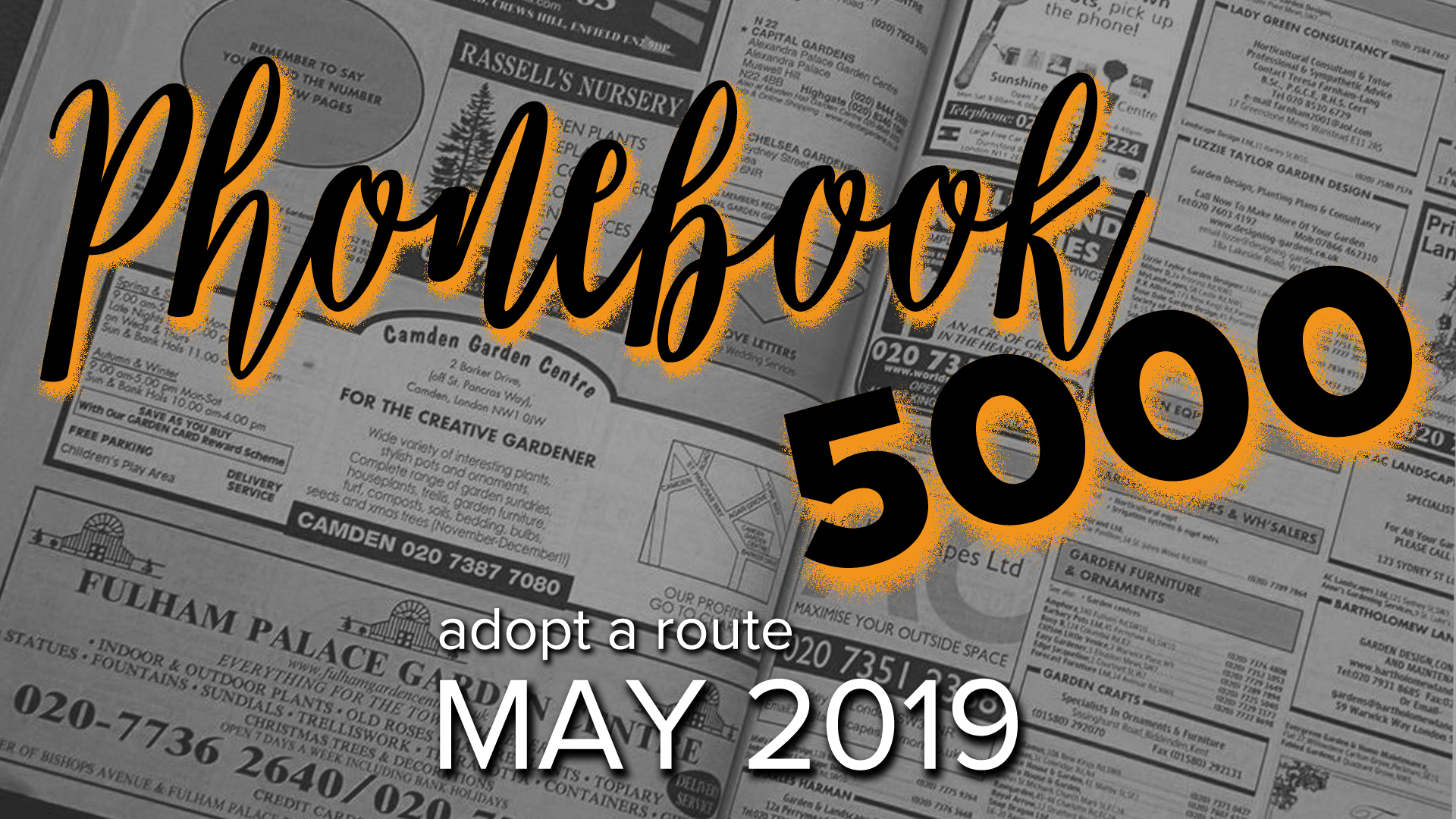 Phonebook 5000 - Adopt a Route — Lighthouse Christian Center