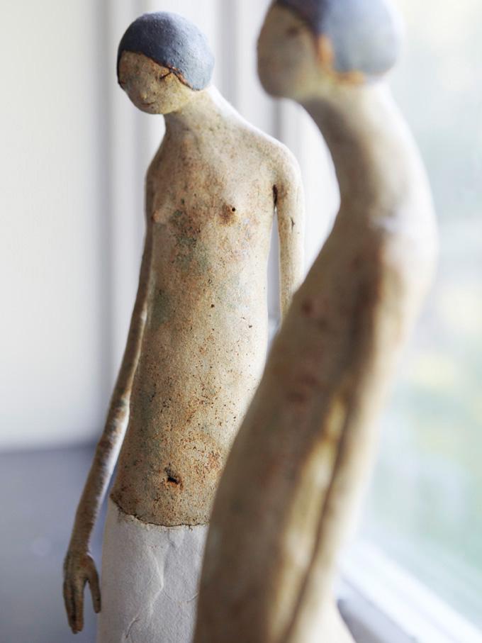 Benedikte Ugland's artistic studio, Elle Decoration