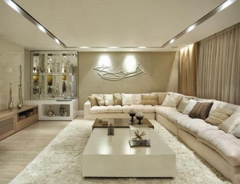 Clean living room