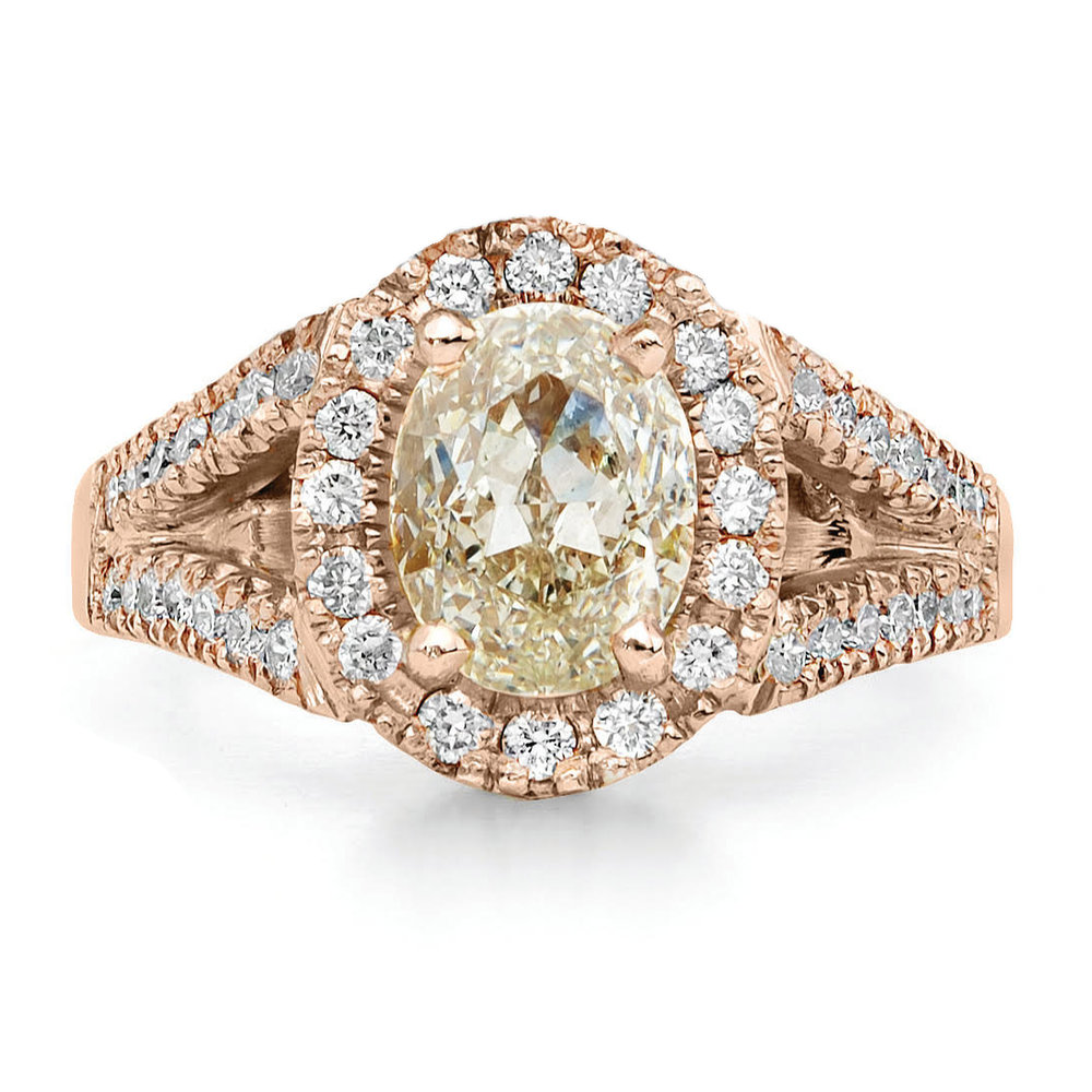 Champagne... - Champagne & Cognac Diamonds are mostly mined in Australia with a large amount coming from the Argyle Mine.