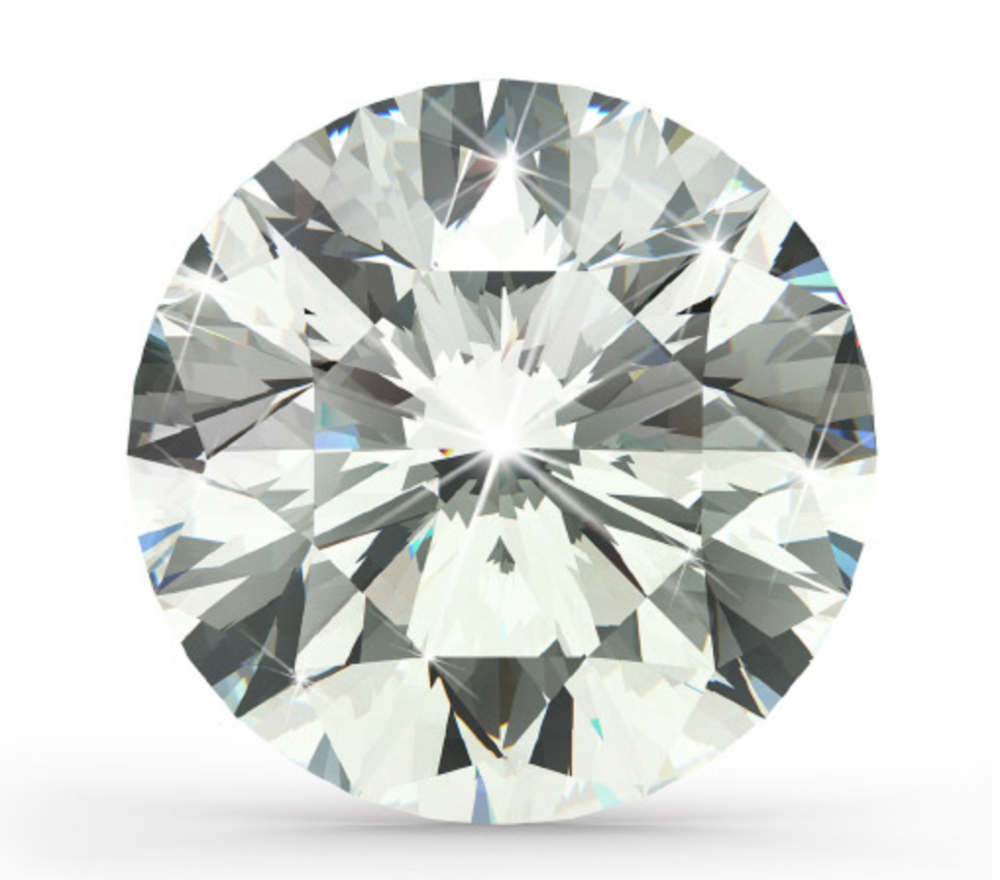 """Round Brilliant Cut   Last, but certainly not least, the most popular shape of choice for engagement rings today is the Round Brilliant Shaped Diamond. The idea behind the Round """"BRILLIANT"""" Shape is its sparkle factor: the highest out of all diamond shapes. This is because of the number of facets, the depth, the crown height, ext. Everything is carefully designed when a Round Brilliant Diamond is cut. If done correctly, you will be more than happy with a sparkly, brilliant Round Diamond."""