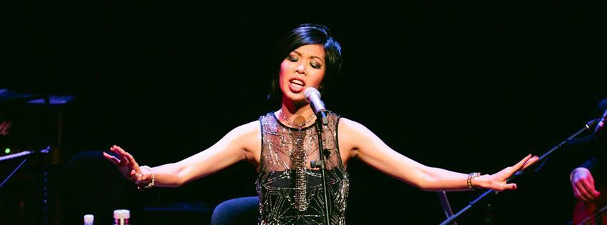 Sarah performing at the Esplanade Recital Studio to launch  Brand New , 2012