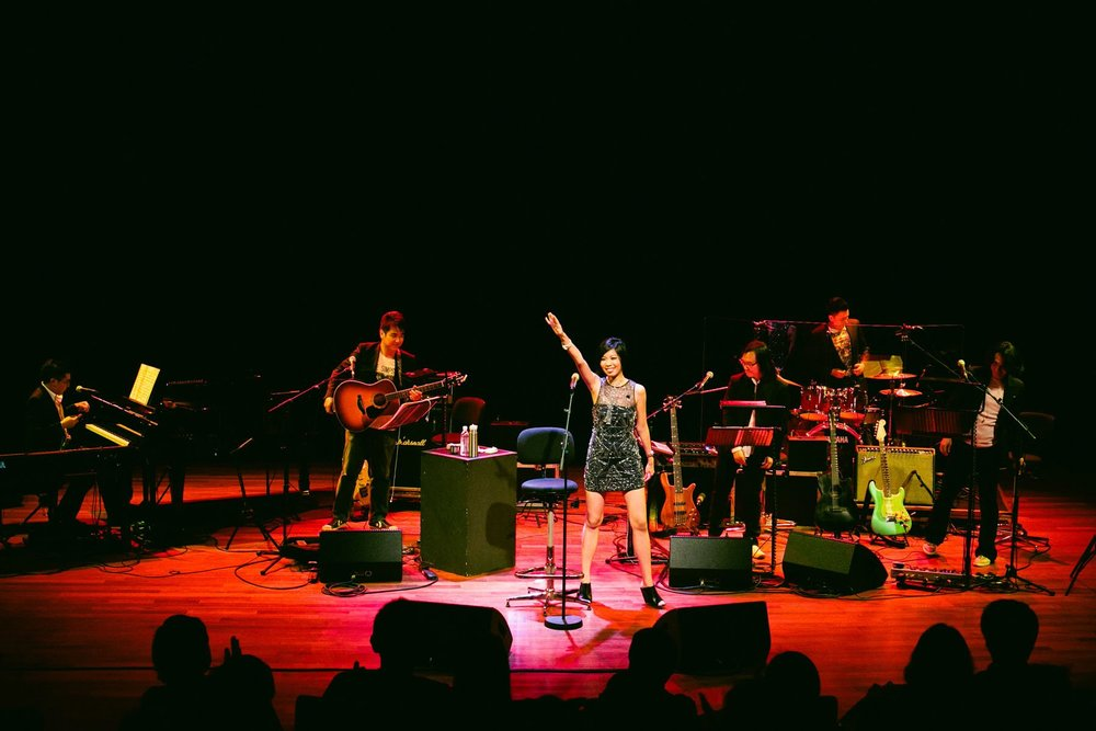 Brand New Album Launch at The Esplanade Recital Studio, September 2012