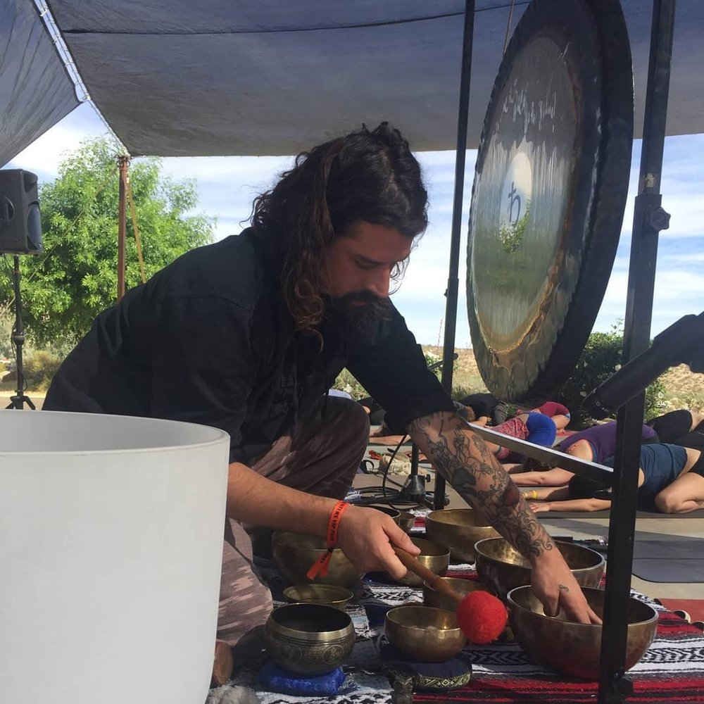 Private Sound Meditation Session - With a gong, crystals, and Tibetan singing bowls, Ryan creates an immersive and meditative sound experience. Group sessions are $30 per person/hrWebsite / Instagram
