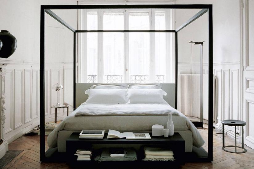 spalni prostor in garderoba