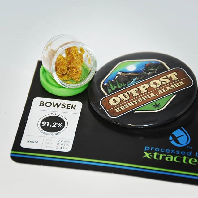 Bowser from @refine_alaska Available at @kushtopia_outpost until Midnight