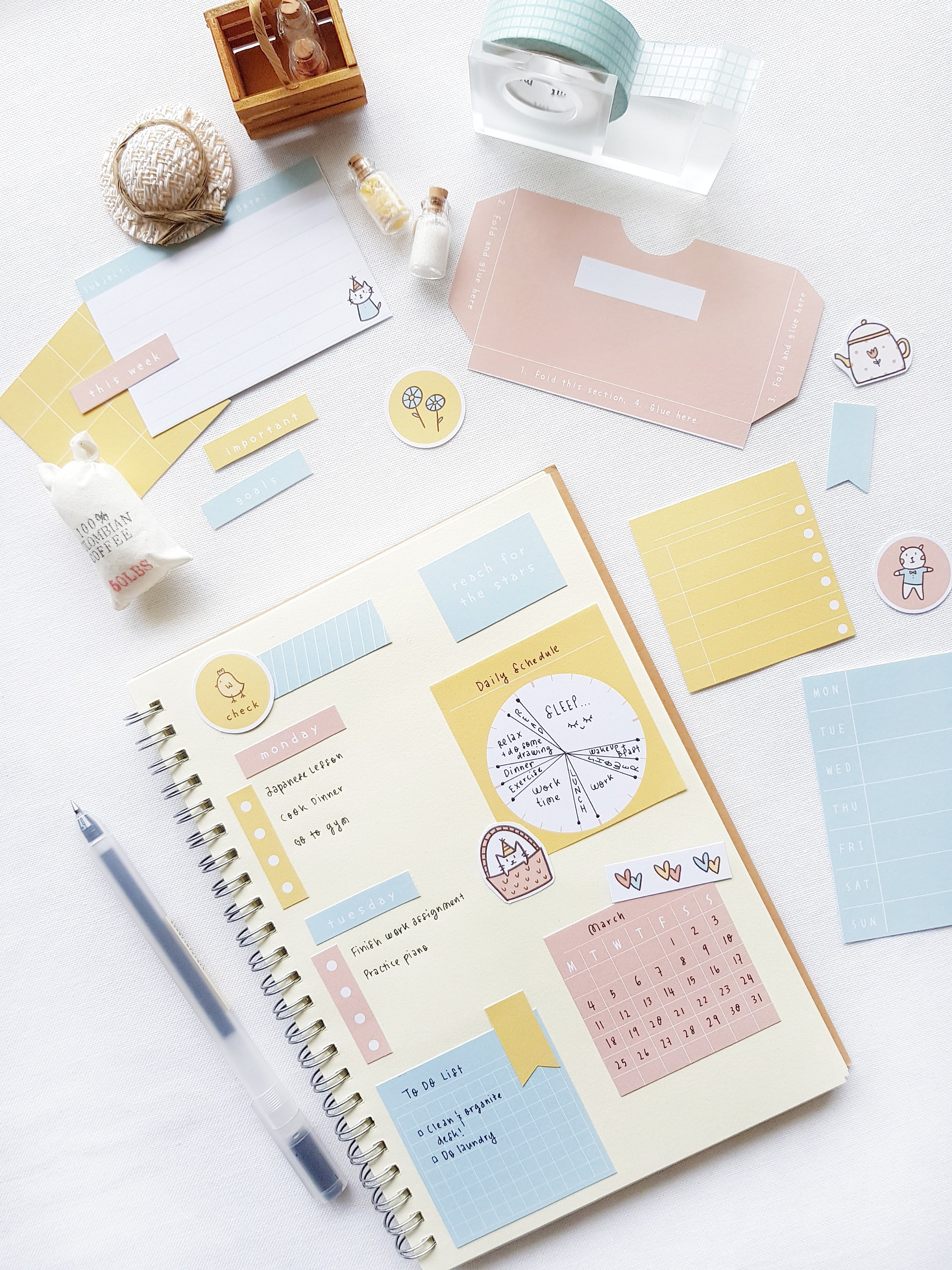 photograph regarding Printable Stationeries named Magazine The Pleasure Library Stickers and Stationery